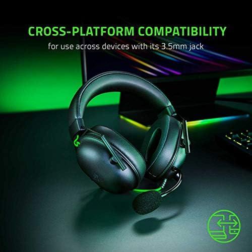 Razer BlackShark V2 X Gaming Headset: 7.1 Surround Sound Capable – 50mm Drivers – Memory Foam Cushion – for PC, PS4, Nintendo Switch – 3.5mm Headphone Jack – Classic Black 51sc5wVB 2B7L