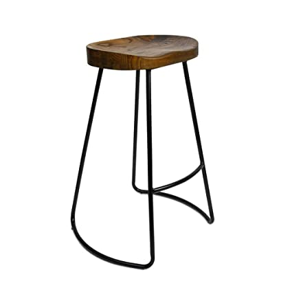 Bar Chairs Hard-Working Nordic Bar Stool Modern Minimalist Bar Chair Solid Wood Home Creative Bar Chair Fashion High Stool Neither Too Hard Nor Too Soft