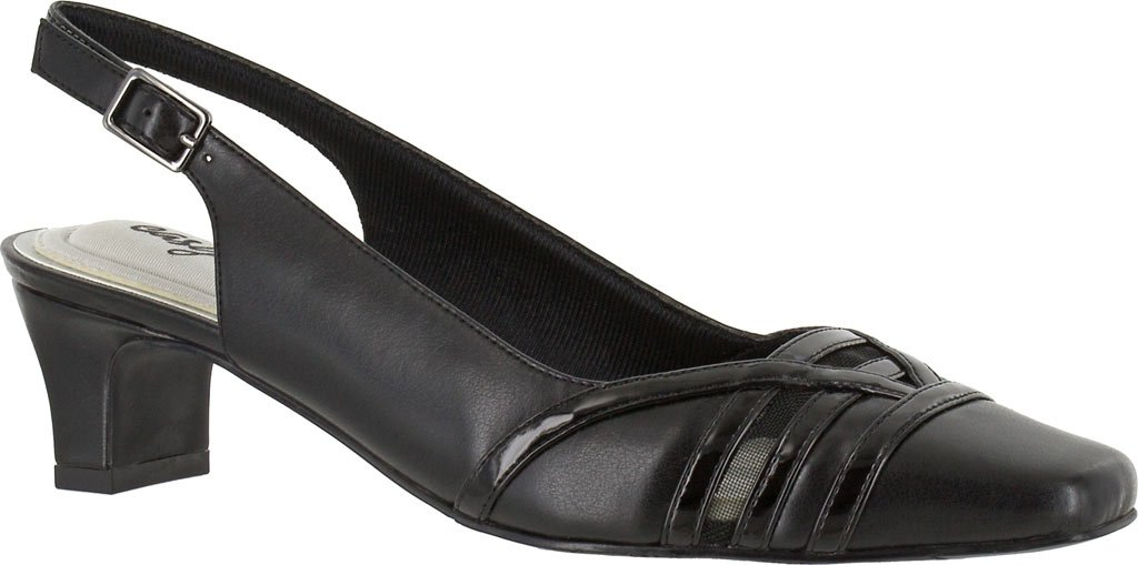 Easy Street Women's Kristen Dress Pump B01NBZVMX0 8.5 E US|Black Patent