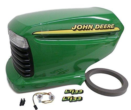 John Deere LT133 complete hood AM131759 AM132530