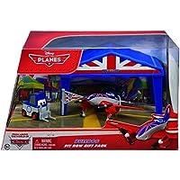 Planes - Box-Hangar de Carreras, Bulldog (Mattel Y5737)