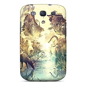 Series Skin Case Cover For Galaxy S3(destopography H1)