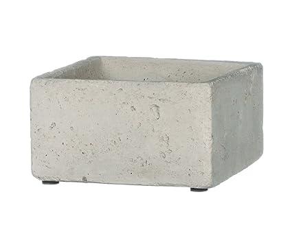 Sullivans Grey Cement Rectangular Planter (2.5u0026quot;)