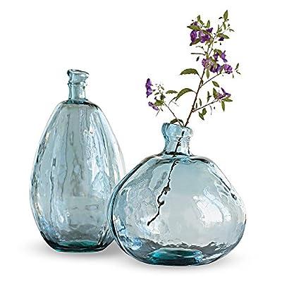 Vivaterra Recycled Glass Balloon Vase