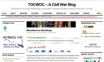 TOCWOC - A Civil War Blog