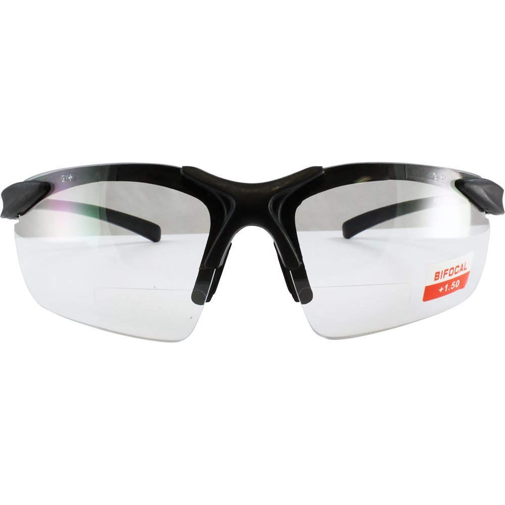 Apex clear bifocal safety glasses 1.5 power by Cglasses (Image #2)