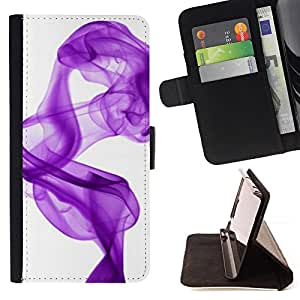 - white purple ink clean/ Personalizada del estilo del dise???¡¯???¡Ào de la PU Caso de encargo del cuero del tir???¡¯????n del s - Cao - For Sony Xperia