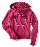 Aeropostale Womens Logo Hoodie Sweatshirt Pink S - Juniors