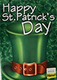 Darice Happy Saint Patricks Day Garden Flag Top Hat