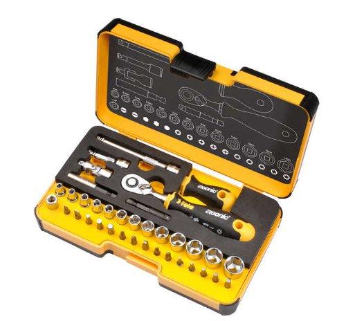 Felo 0715762053 R-Go XL Box Socket Set (36 Piece) (Felo Tools)
