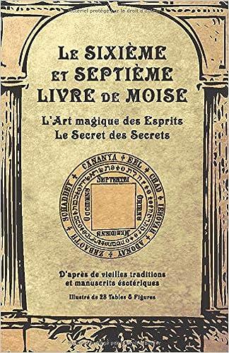 Amazon Com Le Sixieme Et Septieme Livre De Moise L Art