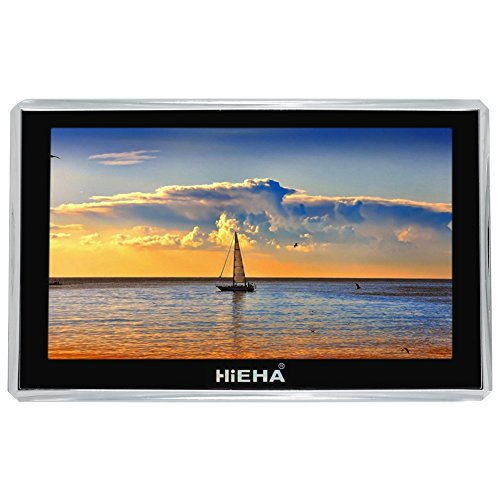 Hieha 8GB GPS Navigation System with FM US CA Lifetime Map Updates