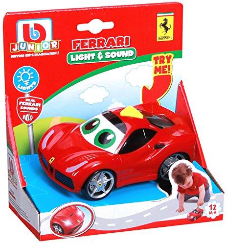 Primo Passi BB Junior Play & Go Ferrari Light & Sound, 1-Pack, Red