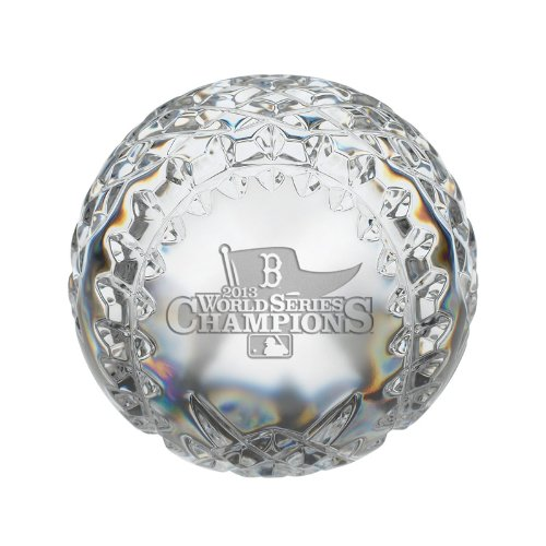 Waterford Crystal Collectibles 2013 Mlb World Series Boston Red Sox Baseball