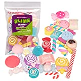 Maddie Rae's Slime Charms, Mixed Sweets 25 pcs of Slime Beads