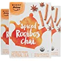 3 Pack Wickedly Prime Organic Spiced Rooibos Chai Tea 15 Count