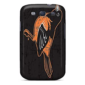 High Quality Mobile Covers For Samsung Galaxy S3 With Customized Nice Baltimore Orioles Image JasonPelletier