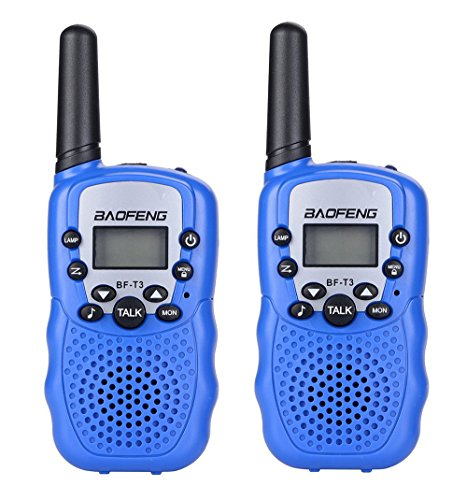Kids Walkie Talkies Long Range Two Way Radio Toys for Kids Handheld Mini Walkie Talkies for Outdoor Adventures Camping Hiking (2 (Mini Adventures Two Packs)