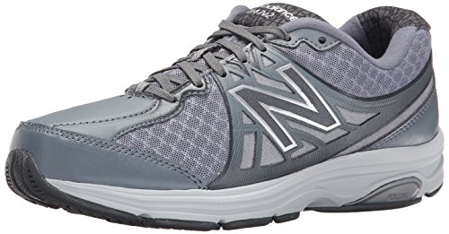New Balance Women's WW847V2 Walking Shoe, Dark Grey/Silver, 8 D US