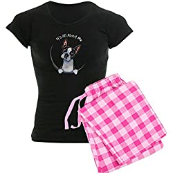 CafePress - Boston Terrier IAAM Full - Womens Novelty Cotton Pajama Set, Comfortable PJ Sleepwear