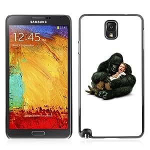 iKiki-Tech Hard Case Cover for Samsung Galaxy Note 3 - Funny Gorilla Hugging Seth Green