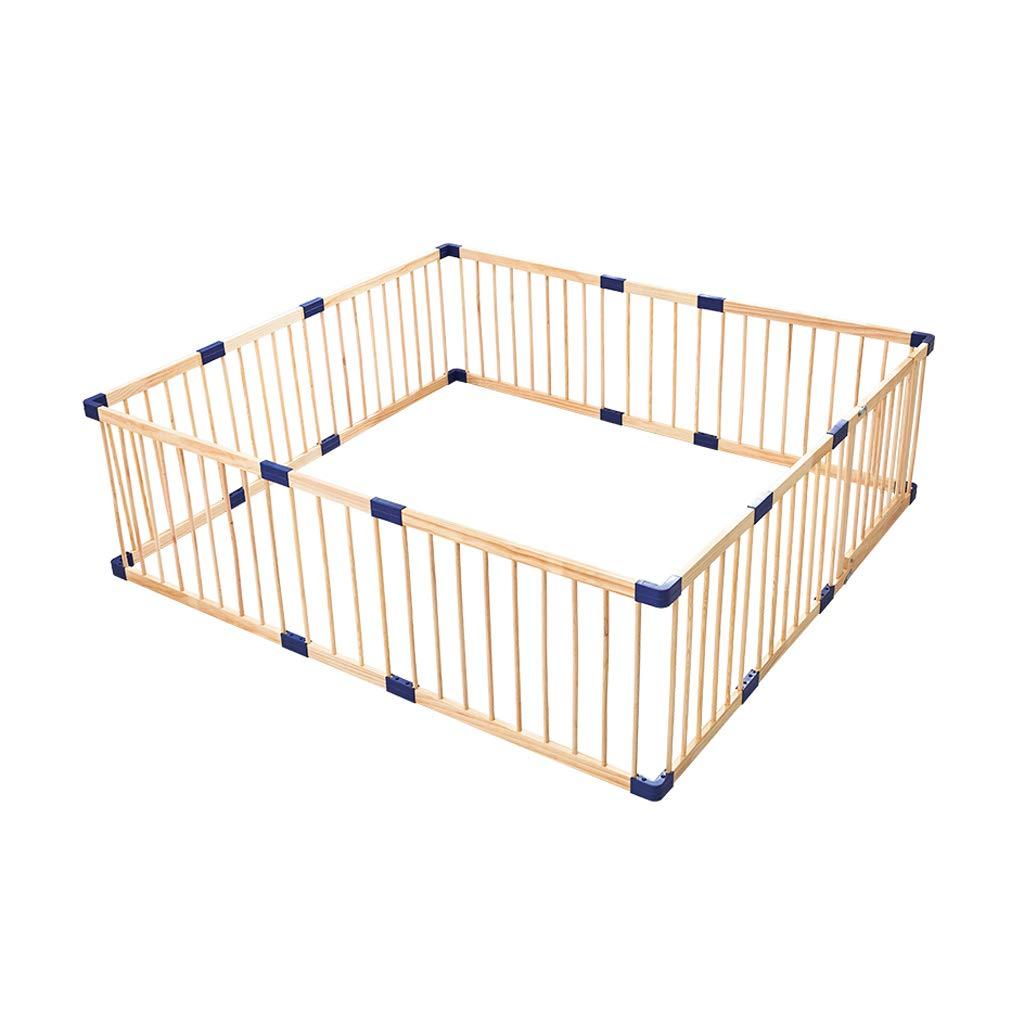 LIUFS-フェンス クロールウォーキングフェンスシングルピース子供用プレイフェンス屋内セキュリティ無垢材遊び場 (サイズ さいず : 3.6m*m) 3.6m*m  B07MQ2NXNH