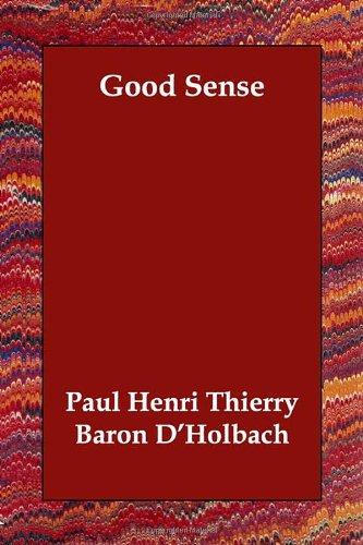 Read Online Good Sense pdf epub
