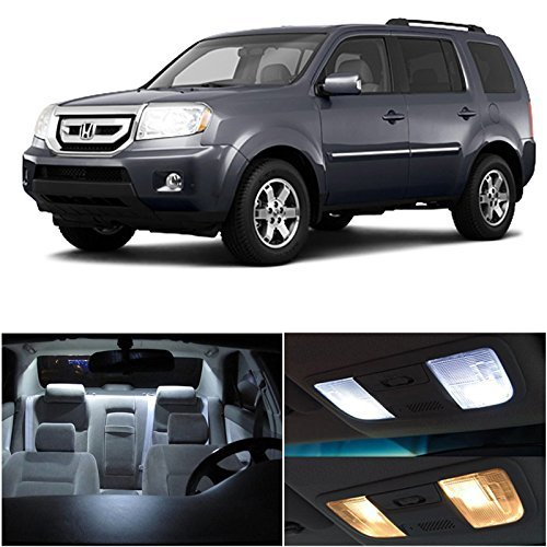 honda-pilot-2009-2014-white-led-package-kit-interior-tag-reverse-lights-15-pieces