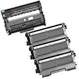 4PK-3 High Yield Inkfirst® Toner Cartridges + 1 Drum Unit TN-450 DR-420 Compatible Remanufactured for Brother TN-450 DR-420 (3 Toner + 1 drum) MFC-7360N MFC-7460DN MFC-7860DW HL-2220 HL-2230 HL-2240 HL-2240D HL2270DW HL-2280DW DCP-7060D DCP-7065DN