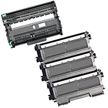 4PK-3 High Yield Inkfirst Toner Cartridges + 1 Drum Unit TN-450 DR-420 Compatible Remanufactured for Brother TN-450 DR-420 (3 Toner + 1 drum) MFC-7360N MFC-7460DN MFC-7860DW HL-2220 HL-2230 HL-2240 HL-2240D HL2270DW HL-2280DW DCP-7060D DCP-7065DN