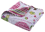 Best Greenland Home Home Fashion Pinks - Greenland Home Woodland Girl Throw Review
