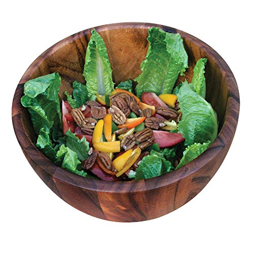 Ironwood Gourmet 28357 Extra Large Bowl, Acacia Wood
