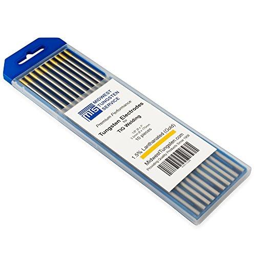 TIG Welding Tungsten Electrodes 1.5% Lanthanated 1/8
