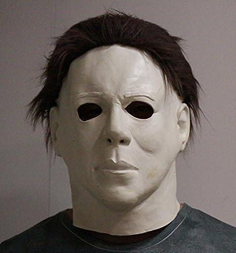 großer Lagerverkauf zur Freigabe auswählen strukturelle Behinderungen Michael Myers Maske Halloween Latex Horror Maske Voller Kopf ...