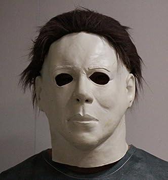 Bestbewertet authentisch laest technology wähle das Neueste Michael Myers Maske Halloween Latex Horror Maske Voller Kopf ...