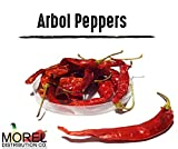 Dried Arbol Pepper (Chile De Arbol) Weights: 2 Oz, 4 Oz, 8 Oz, 12 Oz, and 1 Lb!! (1 LB)