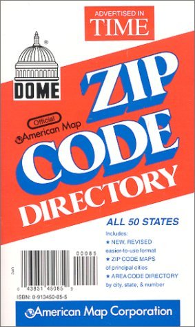 Used, Dome Official American Map Zip Code Directory by Arrow for sale  Delivered anywhere in Canada