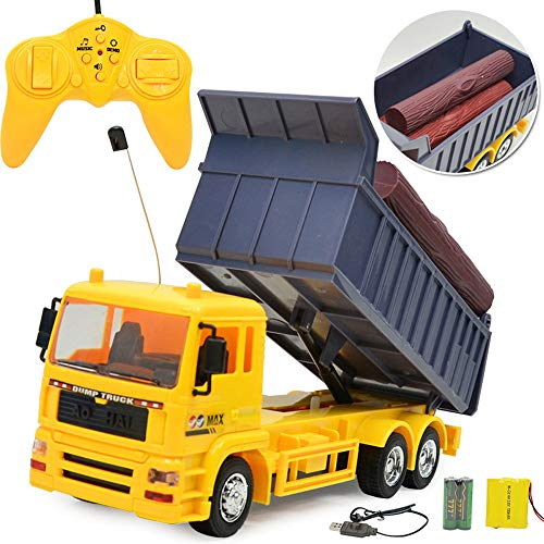 PSFS Four-Wheel Drive RC Dump Truck Plastic Truck,Remote for sale  Delivered anywhere in USA