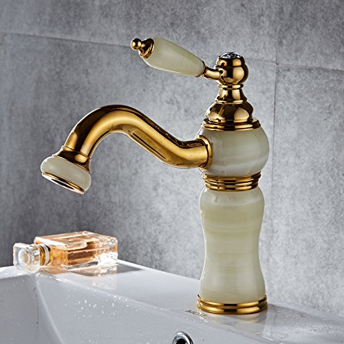 B Makej Hot and Cold Water Faucet in Bathroom Basin A