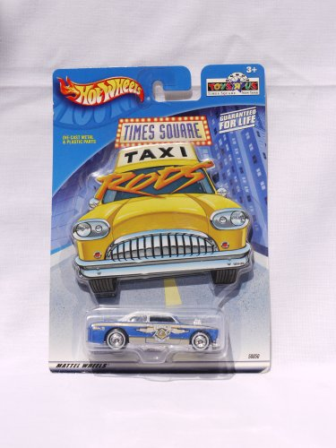 Hot Wheels Toys R Us Times Square Taxi Rod No. 9 (2001)