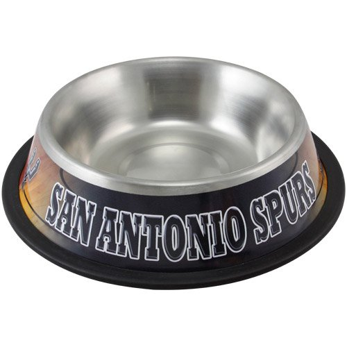 (Hunter San Antonio Spurs Stainless Steel Pet Bowl, 32 oz.)