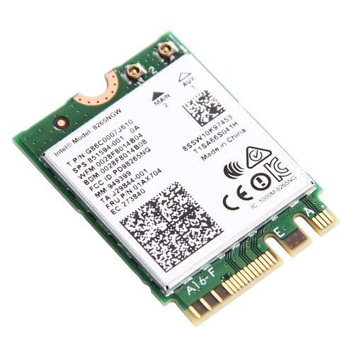 Wireless Lan Card 8265AC for Lenovo X270 T470 T470S T470P L470 L570 P51 P51S P71 E470 E570 by aPower Plus