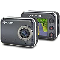 Dash Cam, Ojocam Full HD 1080P 2.7 LCD, 160° Super Wide Angle WEARABLE Dashboard Camera Recorder Night Vision (16G Micro SD Included)