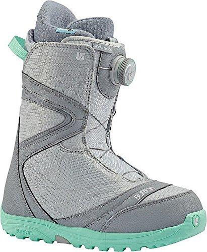 Burton Starstruck Boa Snowboard Boot 2016 - Womens Gray/Spearmint 7