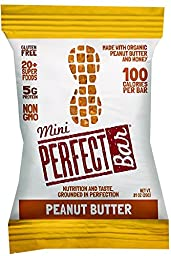 Perfect Bar - Organic - Mini - Peanut Butter - .81 Oz - Case Of 20