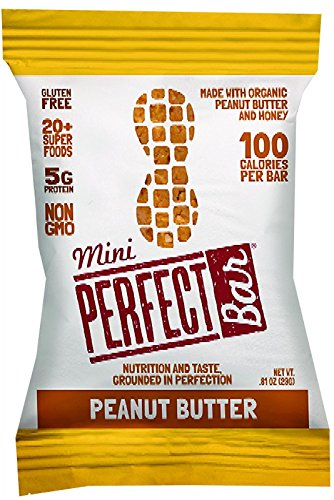 Perfect Bar - Organic - Mini - Peanut Butter - .81 Oz - Case Of (Perfect Food Bar)