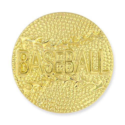 JDS Industries PinMart's Gold Plated Baseball Chenille Sports Lapel Pin