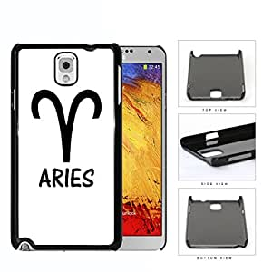 Aries Horoscope Sign Symbol Black and White Hard Snap on Phone Case Cover Samsung Galaxy Note 3 N9000