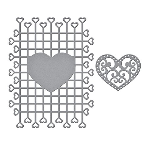 Spellbinders Shapeabilities Trailing Timeless Heart Collection Etched/Wafer Thin Dies (Shapeabilities Collection)