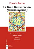Image of La Gran Restauracion (Novum Organum) (Spanish Edition)